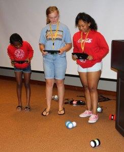 Verizon STEM Camp for middle school girls