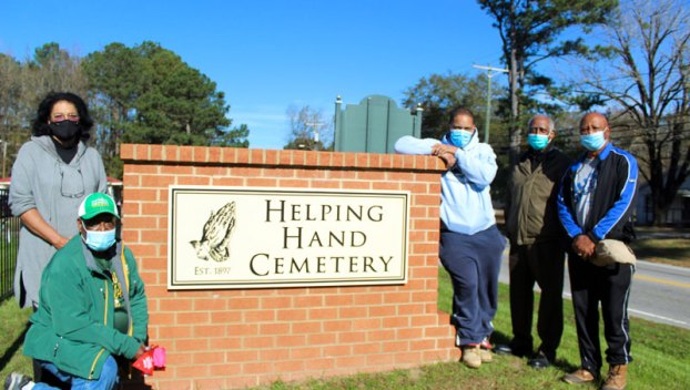 helping hand cemetery radar