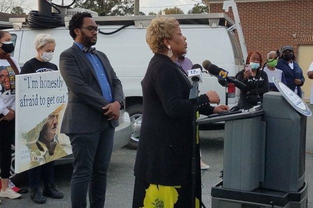 NAACP president valerie butler